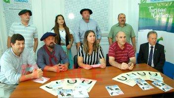 Urdinarrain presentó en Paraná una nueva edición de la Fiesta del Caballo