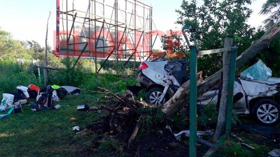 Fatal vuelco en Ruta 11: Hace un mes atrás hubo otra tragedia en el mismo lugar