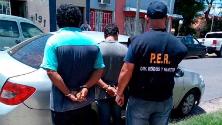 Detuvieron en Paraná a un mecánico y su hijo acusados de violento asalto