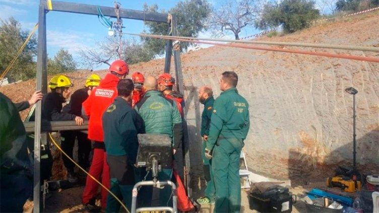 Podría alargarse hasta cuatro días el rescate del pequeño Julen en España