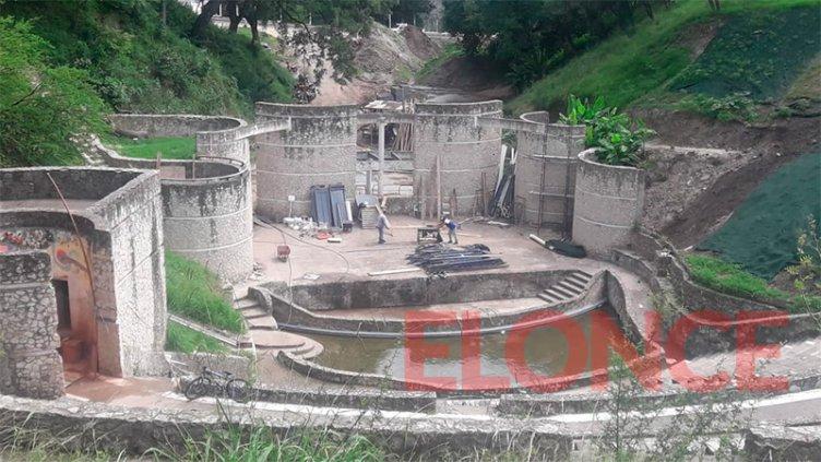 Imágenes: Avanza la obra para la reconstrucción del Anfiteatro Héctor Santángelo