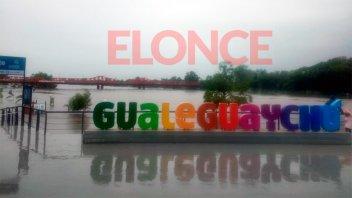 El río superó los 4 metros y aumenta la cantidad de evacuados en Gualeguaychú