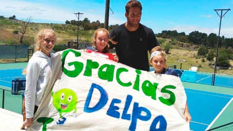 Sueño cumplido: los niños entrerrianos pudieron conocer a Del Potro