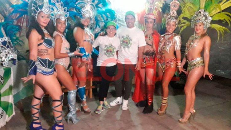 Comparsa Salgueiro se prepara para vivir dos meses a puro carnaval