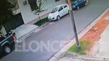 Tras la difusión del video, recuperaron elementos robados de una camioneta