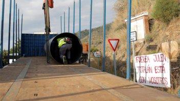 El rescate de Julen en España se complica por la inestabilidad del terreno