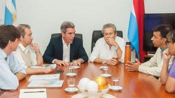 Vialidad y el municipio de Maciá avanzarán en tratativas para mejoras del acceso