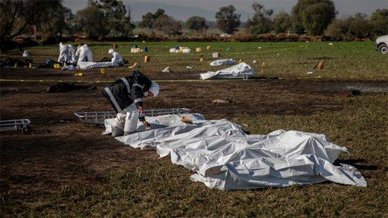 Videos: Así colectaban combustible previo a la explosión que dejó 79 muertos
