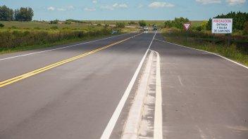 Culminó la obra de rehabilitación de Ruta 16 desde Larroque a la Autovía Artigas