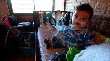 Murió el niño que inspiró la ley de electrodependientes en Córdoba