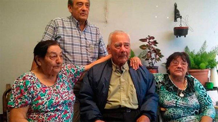 Una búsqueda de décadas tuvo final feliz: Emotivo reencuentro de hermanos