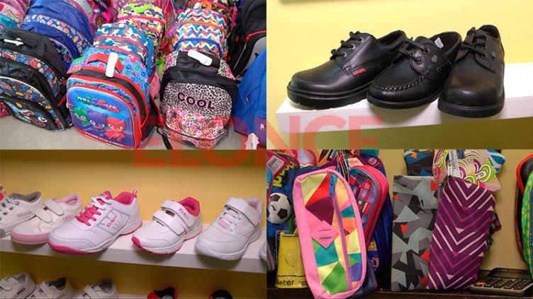 Pensando en la vuelta a clases: precios de mochilas y calzados