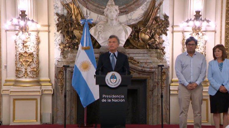 Macri anunció la firma de un DNU para
