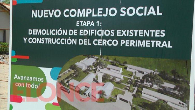 Iniciaron las obras en el nuevo complejo social del Túnel Subfluvial