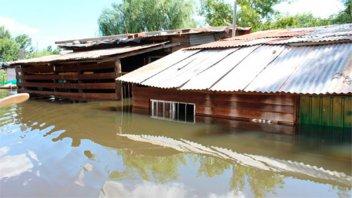 Hay 147 familias que debieron abandonar sus casas en Concepción del Uruguay