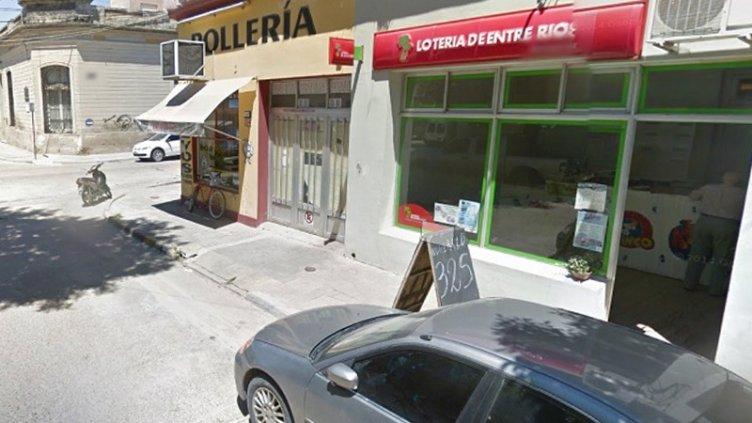 Robaron 3000 pesos de una quiniela ubicada en el centro de Gualeguaychú