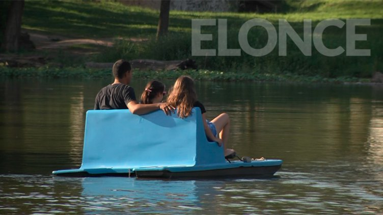 El regreso de los batibotes volvió a ser la atracción de Parque Gazzano