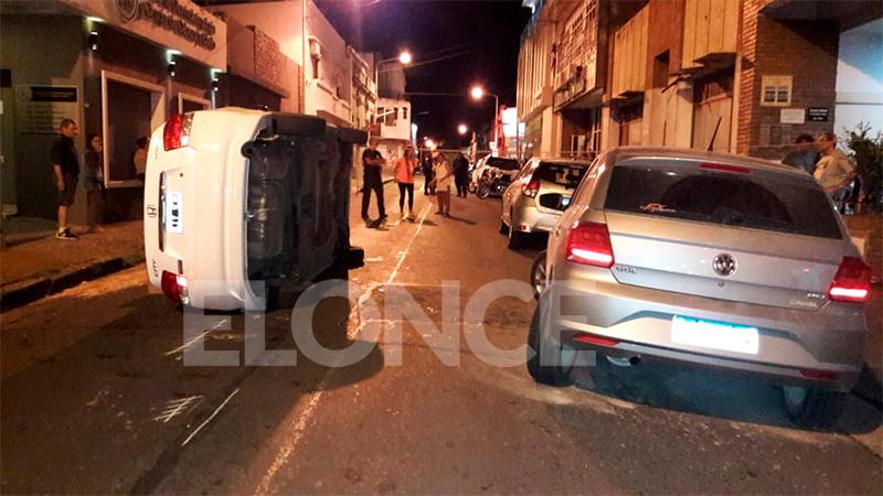 Conductor fue denunciado por agredir a automovilista poco antes de volcar