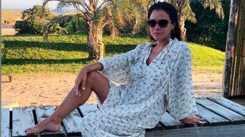 Las románticas fotos de Julieta Ortega con su novio