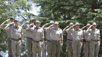 Comenzó un nuevo curso de aspirantes a Guardaparques Nacionales