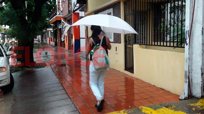 Rigen dos alertas en Entre Ríos: Hoy siguen las lluvias y mañana volvería el sol