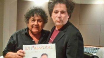Los Palmeras grabaron uno de sus clásicos con Andrés Calamaro