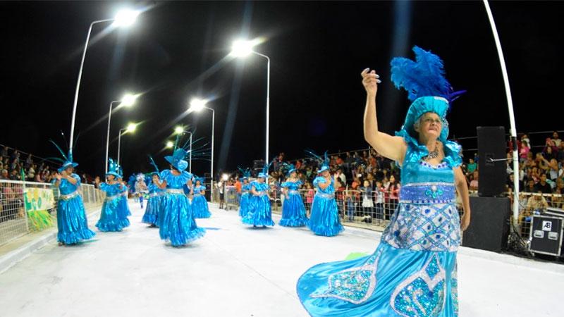 Noche inaugural del Carnaval en Santa Elena.