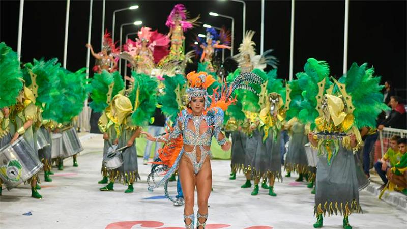 Noche inaugural del Carnaval en Santa Elena. Fotos: (Noticias El Faro)