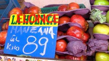 El kilo de manzana se vende a $ 90: Verdulero explica el motivo del aumento