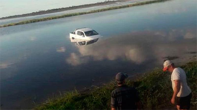 Despistó con su camioneta en una ruta de Chaco.