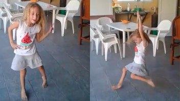 Pura felicidad: El baile de Joaquina que emociona a todos