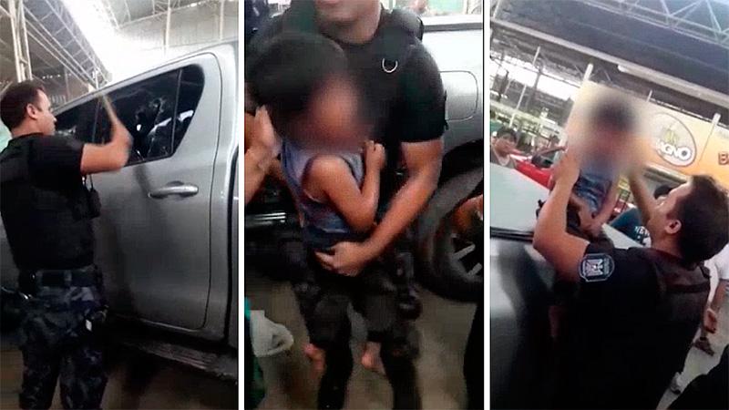 Rescatan a niño que dejaron más de una hora en camioneta con 35ºC de térmica