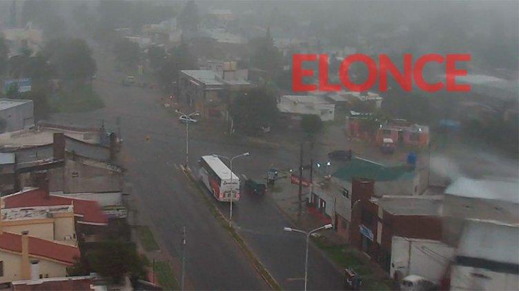 Hubo 40 familias afectadas por la lluvia en Paraná, pero el calor no da tregua