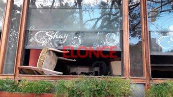 Incendio afectó a reconocida casa de té