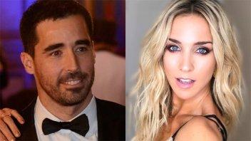 Romance explosivo: Nacho Viale y Soledad Fandiño, a los besos