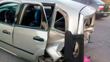 Familia entrerriana sufrió un accidente vial y luego, robaron sus pertenencias