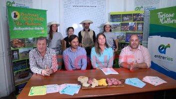 Presentaron la Fiesta Provincial de la Bailanta de Los Conquistadores