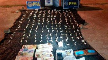 Lo detuvieron con 200 dosis de cocaína en la Costanera de Concordia