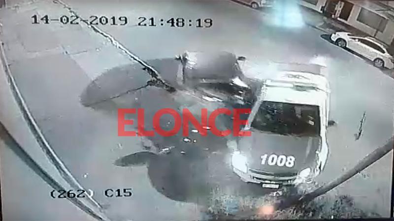 Video revela cómo fue el choque que involucró a varios vehículos en Paraná