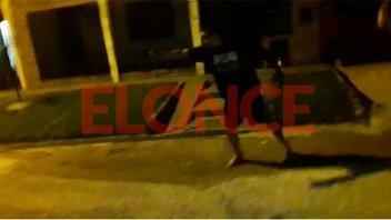 Video: Disparos, agresiones y una mujer herida con un