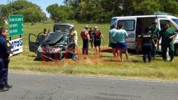 Nuevo accidente en zona de La Picada: Cuatro jóvenes fueron hospitalizados