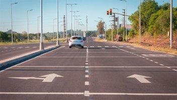 La autovía entre Paraná y Oro Verde presenta un avance del 80 por ciento