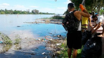 Se organizan para limpiar el río Gualeguaychú el próximo domingo