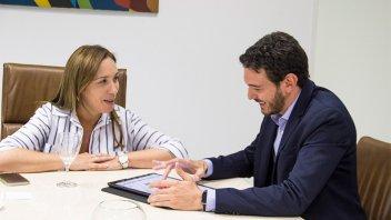 De campaña para las PASO: Gainza se reunió con Vidal en Buenos Aires