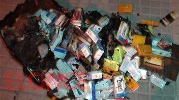 Incendio afectó el garage de la casa de una médica: Habría sido intencional