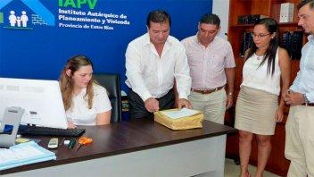Provincia licitó diez nuevas viviendas con recursos propios para Lucas González