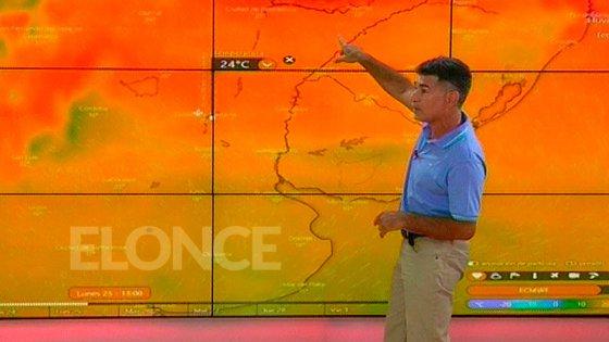 Video: Meteorólogo explica la ola de calor y muestra cómo llega el alivio