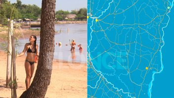 Calor: Elevaron el alerta para una ciudad entrerriana y quedó sin efecto en otra