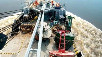 Un buque comenzará los trabajos de balizamiento en el río Uruguay