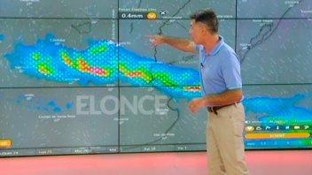 Se espera el alivio de las lluvias: El pronóstico en un video de dos minutos